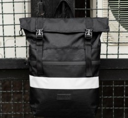 South ROLLTOP Black Classic reflective